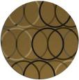 rug #707038 | round retro rug