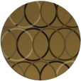 rug #707040 | round retro rug