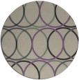 rug #707101 | round beige geometry rug
