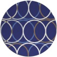 rug #707202 | round retro rug