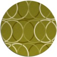 its a round rug - product 707243