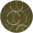 rug #707253   round light-green circles rug