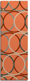 its a round rug - product 707469