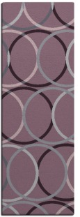 its a round rug - product 707511