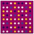 rug #709486 | square circles rug