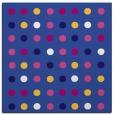 rug #709489 | square blue-violet rug