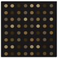 rug #709501 | square black circles rug