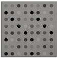 rug #709559 | square circles rug