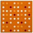 rug #709577   square orange rug
