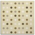 rug #709677   square yellow circles rug