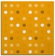 rug #709721 | square light-orange circles rug