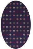 rug #709845 | oval beige popular rug