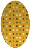rug #710026 | oval retro rug