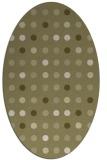 rug #710061   oval light-green popular rug