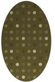 rug #710069 | oval light-green popular rug