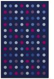 rug #710117    blue circles rug
