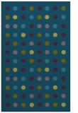 rug #710149    green circles rug