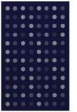 rug #710173 |  blue-violet circles rug