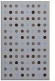 rug #710201 |  blue-violet geometry rug