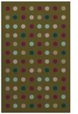 rug #710209 |  mid-brown retro rug