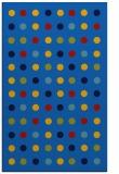 rug #710257 |  blue circles rug