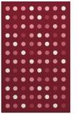 rug #710301 |  pink retro rug