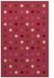 rug #710305 |  pink circles rug