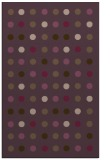 rug #710313 |  purple circles rug