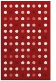rug #710337 |  red retro rug