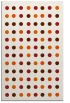 rug #710357 |  red-orange geometry rug