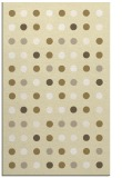 rug #710381 |  yellow circles rug