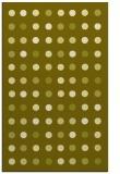 rug #710409 |  light-green circles rug