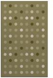 rug #710413    light-green circles rug