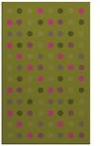 rug #710417 |  pink circles rug