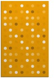 rug #710425 |  light-orange circles rug