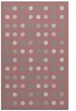 rug #710429 |  pink retro rug