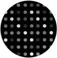 rug #710445   round black circles rug