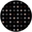rug #710453   round black circles rug