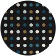 rug #710461 | round brown rug