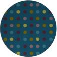 rug #710501 | round green circles rug