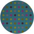 rug #710505 | round pink circles rug