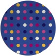 rug #710545 | round circles rug