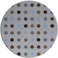 rug #710553 | round blue-violet retro rug