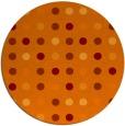 rug #710629   round red-orange circles rug