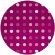 rug #710649   round pink rug