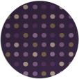 rug #710673   round purple circles rug