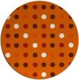 rug #710710 | round circles rug
