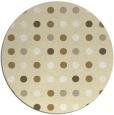 rug #710733 | round yellow circles rug