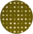 rug #710761 | round light-green circles rug