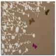 rug #713057 | square mid-brown natural rug